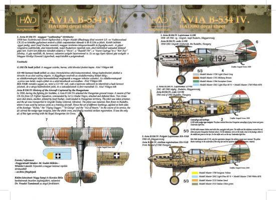 HAD Avia B-534