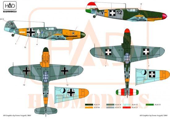 HAD Messerschmitt Bf 109 F-4/b