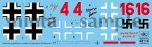 "HAD Fw-190 A-8 / R2 red 4 ""Ur Sau""; Red16 ""Schwarzer Panter"""