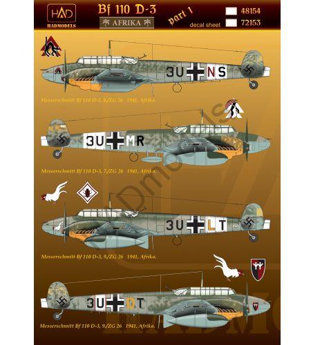 HAD Messerschmitt Bf 110 D-3 Afrika 1