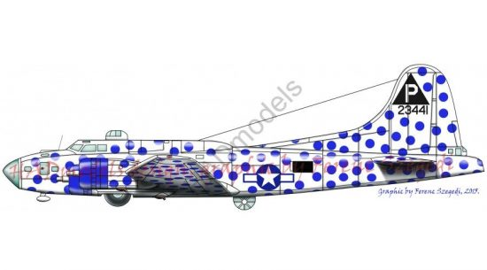 HAD B-17F spotted Cow USAAF