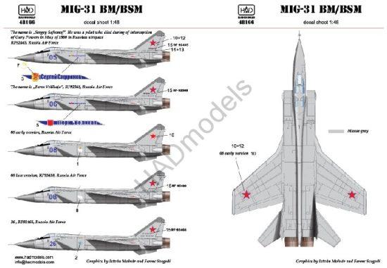 HAD MIG-31 BM/BsM
