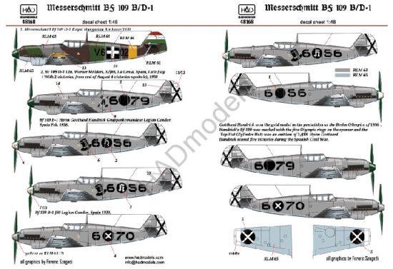 HAD Messerschmitt Bf 109 B/D