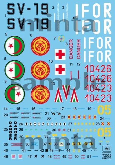 HAD Mi-8 Hungarian 10423 IFOR, 10426, Kirgizian 05, Cambodia-19
