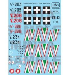 HAD Cr-42 (RHunAF V-203; V-206; V-228; V.234)