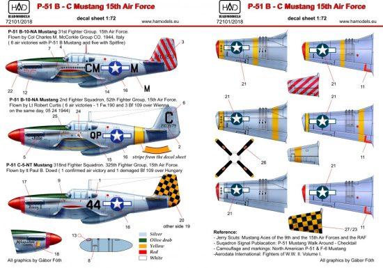 HAD P-51 B Mustang