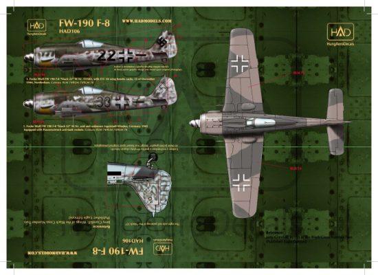 HAD FW-190 F-8