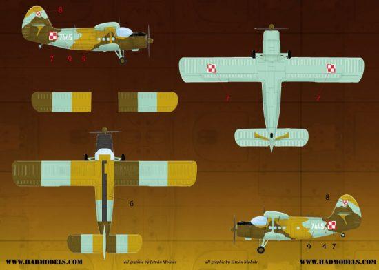 HAD An-2 decal sheet
