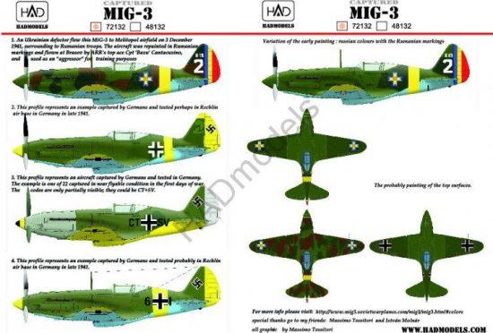 HAD MIG-3 captured