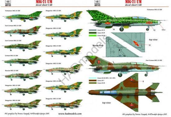 HAD MiG-21 UM