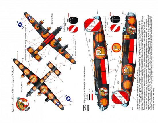 "HAD B-24D /H ""Pete the Pom Inspector"""