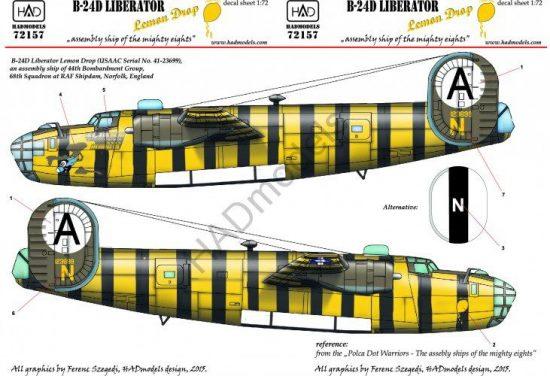 HAD B-24D Lemon Drop USAAC