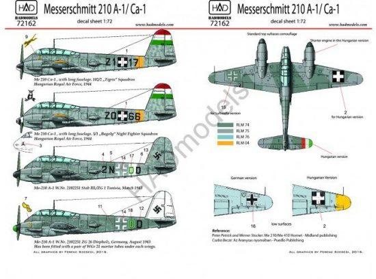 HAD Messerschmitt 210 A-1 / Ca-1