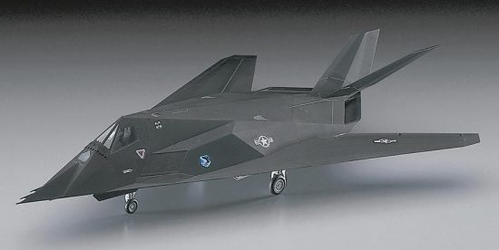 Hasegawa F-117A Nighthawk makett