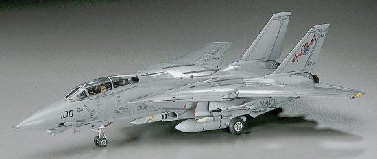 Hasegawa F-14A Tomcat (Low Visibility) makett