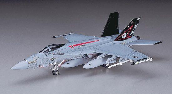 Hasegawa F/A-18E Super Hornet makett