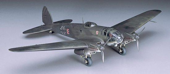 Hasegawa Heinkel He111P makett