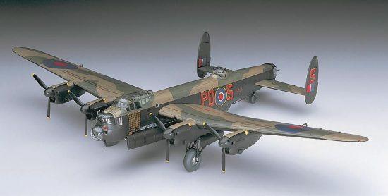 Hasegawa Lancaster B MK.I/MkIII makett