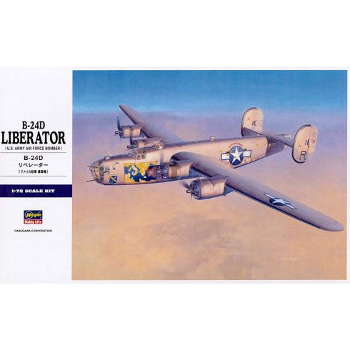 Hasegawa B-24D LIBERATOR makett