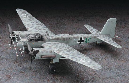 Hasegawa Junkers Ju88G-6 Nachtjager makett