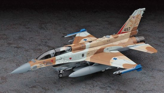 Hasegawa F-16I Fighting Falcon Israeli Air Force makett