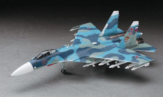 Hasegawa SU-33 Flanker D makett