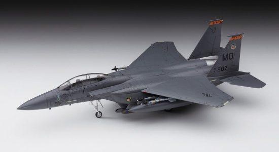 Hasegawa F-15E Strike Eagle makett