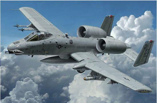 Hasegawa Fairchild A-10C Thunderbolt II makett