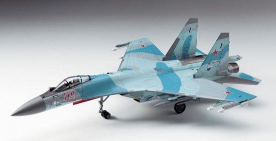 Hasegawa Su-35S FLANKER makett