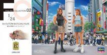 Hasegawa 90's Platform Boots Girls Figure