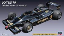 Hasegawa Lotus '79 1978 Germany GP Winner makett