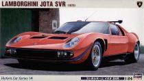 Hasegawa Lamborghini Jota SVR 1975 makett