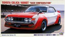 "Hasegawa Toyota Celica 1600GT ""Race Configuration"" makett"