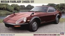 Hasegawa Nissan Fairlady 240ZG makett