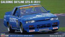 Hasegawa Calsonic Skyline GTS-R (R31) makett