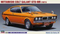 Hasegawa Mitsubishi Colt Galant GTO-MR 1971 makett