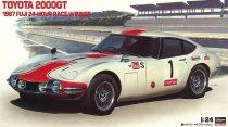 Hasegawa Toyota 2000 GT Fuji 1967 makett