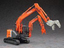 Hasegawa Hitachi Double Arm Working Machine Astaco Neo Crusher/Cutter makett