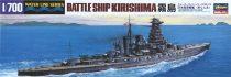 Hasegawa IJN Battleship Kirishima makett