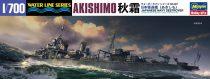 Hasegawa JAPANESE NAVY DESTROYER AKISHIMO makett