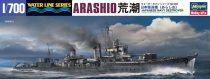 Hasegawa JAPANESE NAVY DESTROYER ARASHIO makett