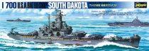 Hasegawa USS South Dakota makett