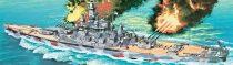 Hasegawa USS Alabama makett