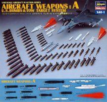 Hasegawa U.S. AIRCRAFT WEAPONS A