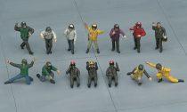 Hasegawa Navy Pilot / Deck Crew Set A