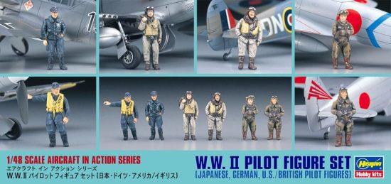 Hasegawa WWII Pilot Figure set