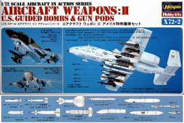 Hasegawa U.S. AIRCRAFT WEAPONS II