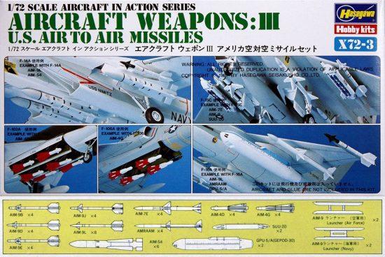 Hasegawa U.S. AIRCRAFT WEAPONS III