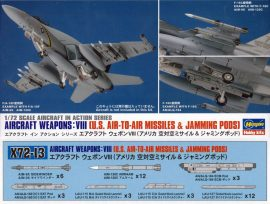 Hasegawa U.S. AIRCRAFT WEAPONS VIII