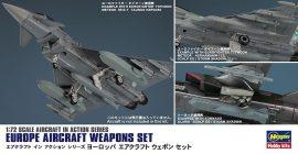 Hasegawa EUROPE AIRCRAFT WEAPONS SET